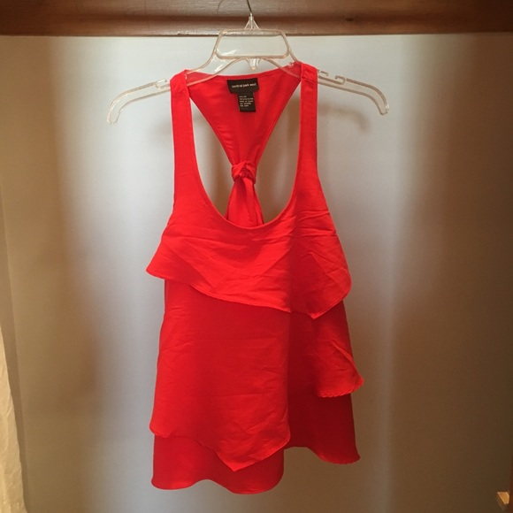 Central Park West Tops - Coral Tank Top